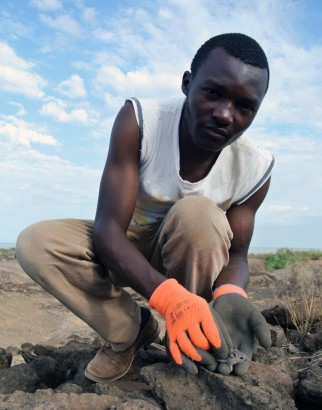 Leo Mangilati (small mammal project manager, Mpala)